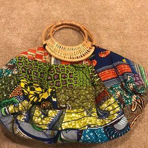 Handbags - Large african print bag